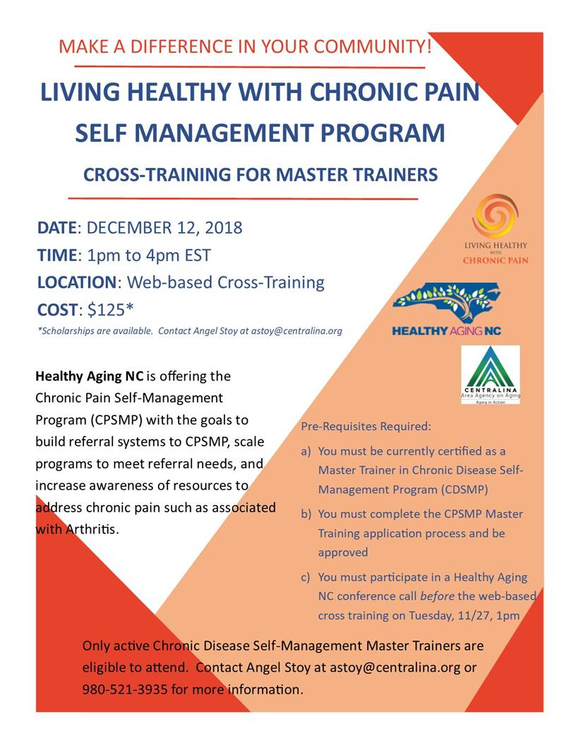 Cross-Training for Master Trainers