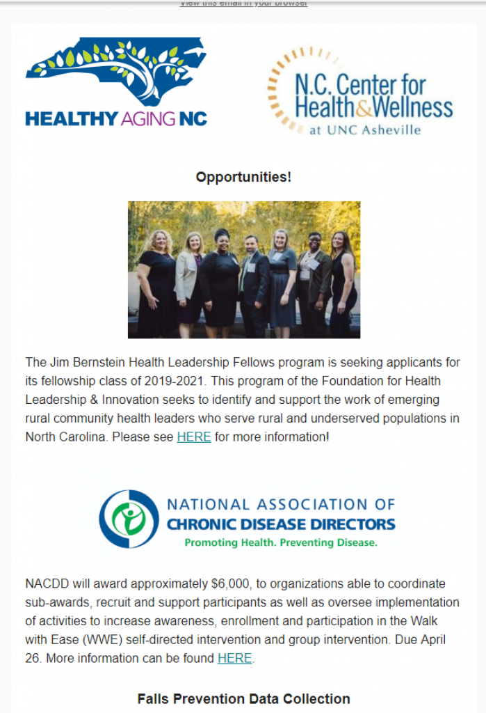 Front page of the April Bulletin
